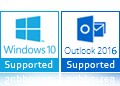 windows10 and outlook-2016